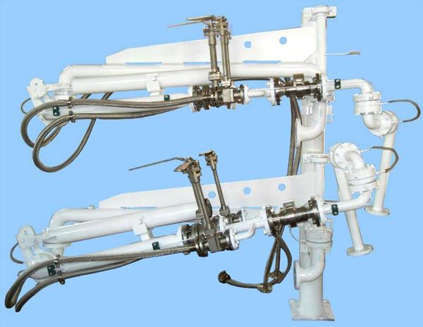 LNG crane tube